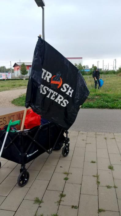 Trashbusters bei der U2 - Trashwalk
